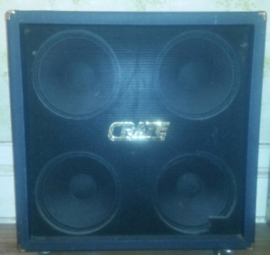Crate Blue Voodoo 4x12 Straight Cabinet