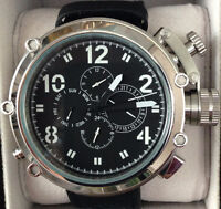 BRAND NEW LUXURY 50mm AUTOMATIC MEN DIVERS WATCH, MILITARY STYLE