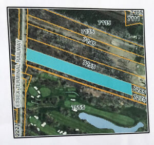Two Lots for Sale: Beside Essex Golf Club in LaSalle, Ontario