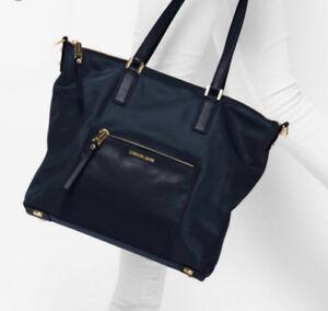 Michael Kors black Nylon tote/ hand bag.