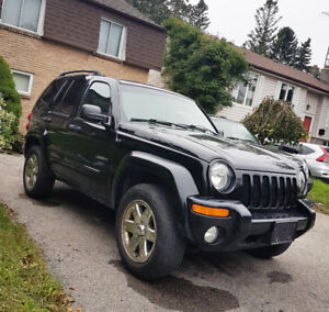 2004 Jeep Liberty Limited for Sale [Black]