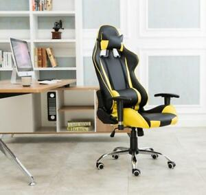 yellow Office Gaming Chair Racing Seats Computer Chair 251327