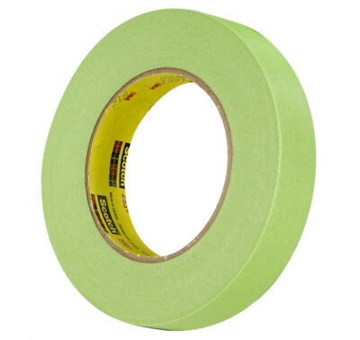 3M 26334 Scotch 233  Green Automotive Masking Tape  3 4  X 55M  1 Roll