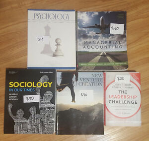 Commerce, Sociology, and Psychology Textbooks