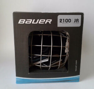 BAUER Hockey Helmet w/cage, New in box FM2100 JR