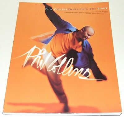 Phil-Collins-Dance-Into-The-Light-Sheet-Music-Book-NEW-FREE-P-P