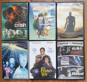 DVD and DVD Blu-ray - Various Titles
