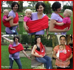 2 baby wearing pouch slings London Ontario image 4