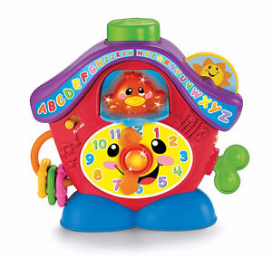 Fisher Price Laugh & Learn Peek-a-Boo Cuckoo Clock