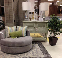 Create a Reading Nook! Check out our Accent Chairs!