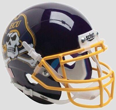 EAST CAROLINA PIRATES ECU NCAA Schutt XP Authentic MINI Football Helmet ()