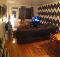 Amazing LARGE 3 1/2 apartment in NDG November 1st