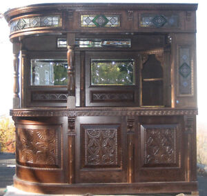 Unique Antique Bar Imported From England 独特的仿古酒吧进口从英格兰