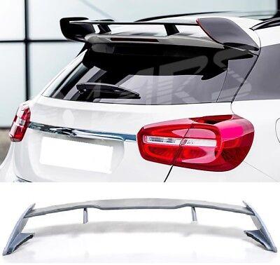 Für Mercedes-Benz GLA X156 Gla45 AMG Look Dachspoiler Stoßstange Auspuff