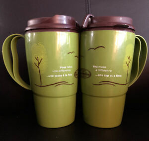 2 Tim Hortons Travel Mugs