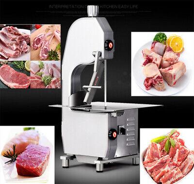Frozen Meat Bone Saw Cutter Slicer Steak Fish Meat Cutting Machine Equipment New
