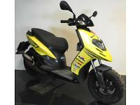 2013 62 PIAGGIO TYPHOON 50 2T 2STROKE YELLOW MOPED SCOOTER LEARNER LEGAL PROJECT