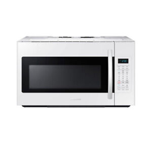 Samsung 1.8 Cu Ft Over The Range Microwave ME18H704SFW