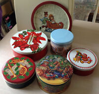 CHRISTMAS COOKIE / BAKING TINS & TRAY