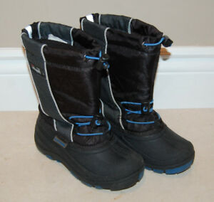 Kids Ice Fields Snow Boots Size 13 (Thinsulate Insulation 200g)