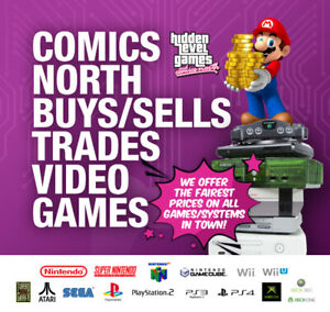 Comics North Wants Your Old Video Games and Systems