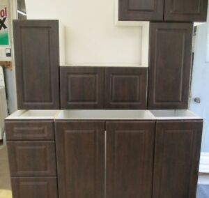 New Kitchen Cabinets- CHOCOLATE Doors