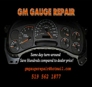 INSTRUMENT CLUSTER - GAUGE REPAIR 519-562-1877