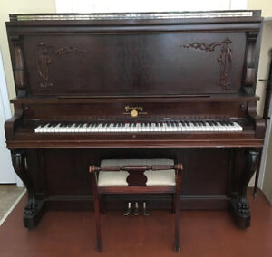 Gourley Upright Piano - Free to good home