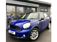 2016 66 Mini COUNTRYMAN COOPER D **£30 TAX -DIESEL - FMSH - UNDER WARRANTY**