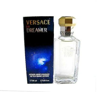 The Dreamer for Men by Versace After Shave Splash 1.7 oz ~ New in Box