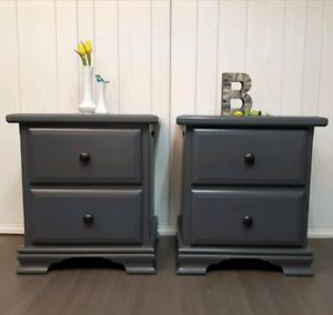 Matching bedside tables