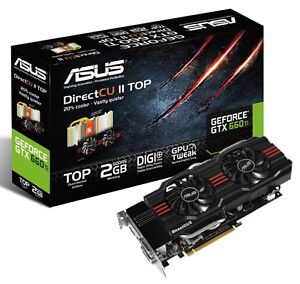 Geforce Asus 660 ti barely used in box...