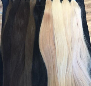 """100% Remy human Clip in hair Extenions 240g 20"""""""