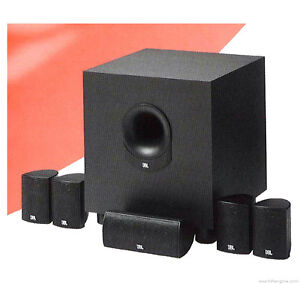 JBL SCS135 Home Theater Speaker Systems - Fantastic Package