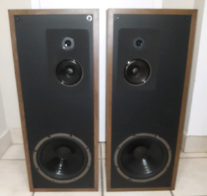 Rare Vintage Mirage SM-2.5 3-Way Speakers