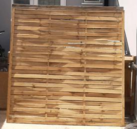 Quick Sale 3x Fence Panels 6ft x 6ft