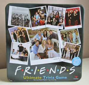 Friends Ultimate Trivia Game 100% Complete 2003 in Tin Box