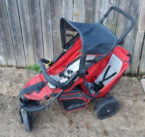 Double stroller for sale delivery is available