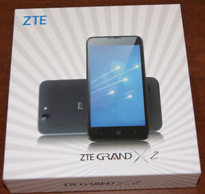NEW BELL OU VIRGIN ZTE Grand X2, Z850, Android 5.1 5.0-inch $150