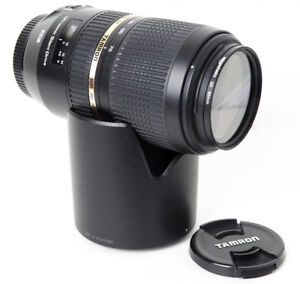 Tamron SP 70-300mm F/4-5.6 Di VC USD Lens For Canon EF Mount