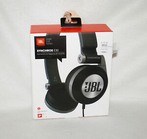 JBL Synchros E30, On-Ear Headphones with Legendary Sound