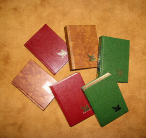 "SET of SIX HARDCOVER ""READERS DIGEST CONDENSED BOOKS"""