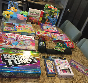 Huge lot of board games for preschool through elementary