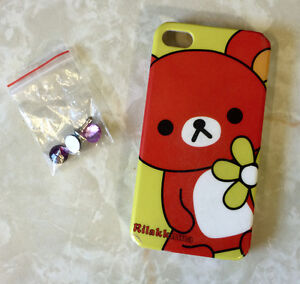Rilakkuma iPhone 4S Case + Gems For Headphone Jack