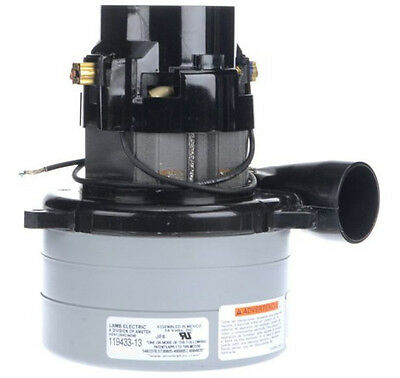 Ametek Lamb Vacuum Blower Motor 24 Volts Dc 119433-13
