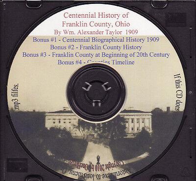 Franklin County Ohio  Centennial History & Biographies