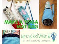 Easy Sew Class - Make a Yoga Mat Bag, Sat 10th Feb 10am - 1pm