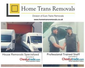 Professional removal service, man and van, furniture delivery, packing, clearance, house moves price