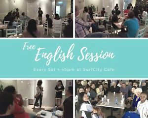 Free English conversation class Surfers Paradise Gold Coast City Preview