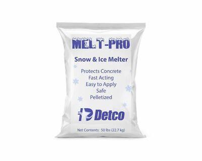 Detco Melt-pro Snow Ice Melt - Patented Formula Concrete Pet Plant Safe
